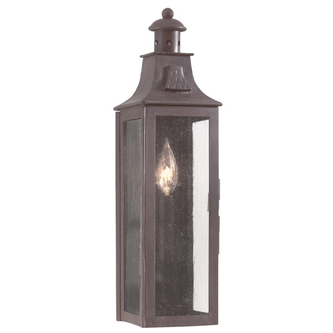 Newton Outdoor Incandescent Wall Sconce by Troy Lighting | BCD9007OBZ