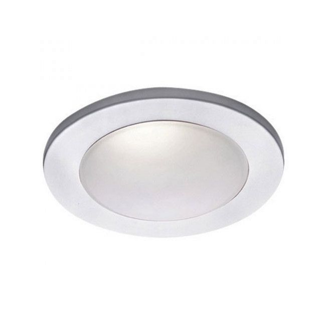 Low Voltage 4IN Drop Dish Premium Shower Trim by WAC Lighting   HR-D418-WT