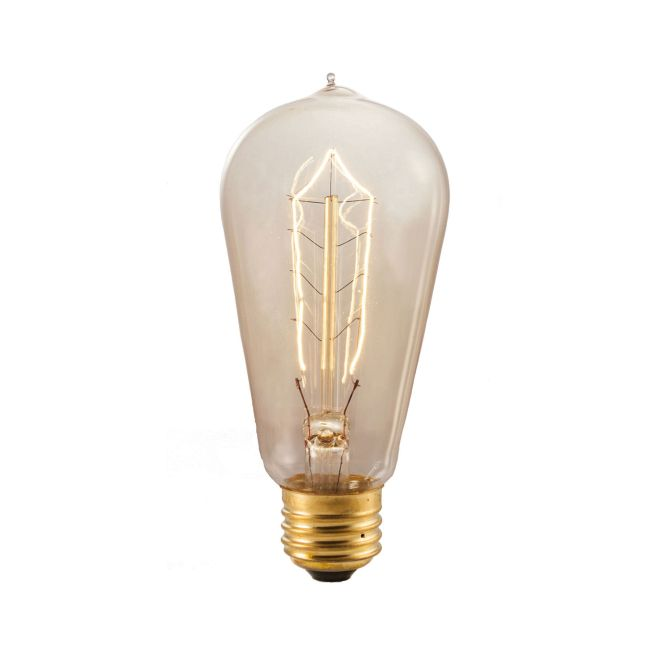ST18 Med Base Antique Hairpin Filament 40W 120V  by Bulbrite