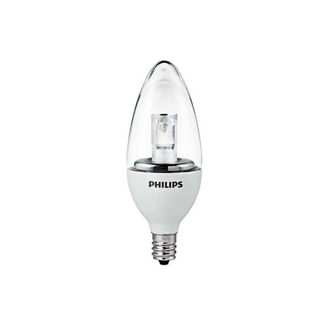 EnduraLED Dimmable Candle B11 Candelabra Base 3W 120V by Philips LED | 420414