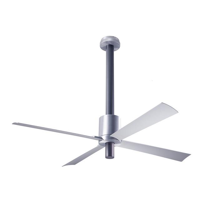 Pensi Ceiling Fan No Light by Modern Fan Co. | PEN-AA-52-AL-NL-003