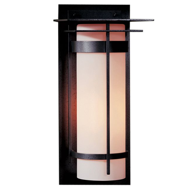 Banded Top Plate Outdoor Wall Light  by Hubbardton Forge
