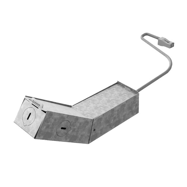 Ardito 3.5IN Round/Square Remodel Housing  by Contrast Lighting
