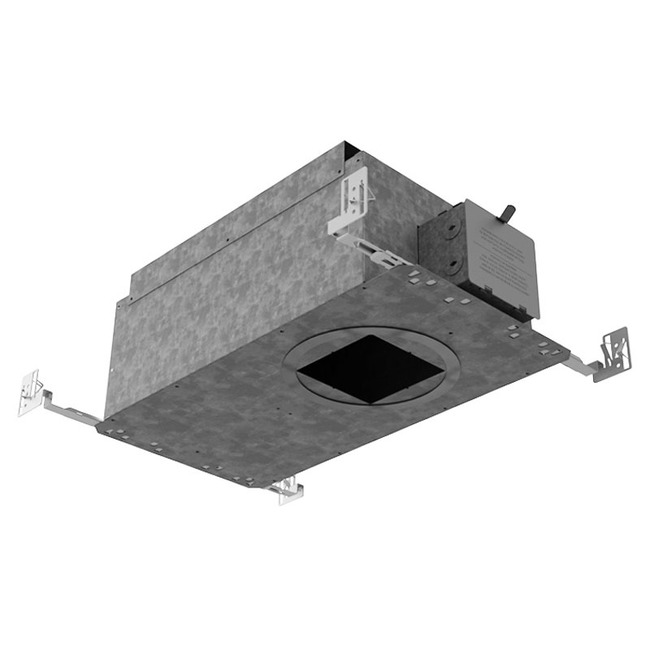 Ardito 4IN SQ Warm Dim/Color Tune New Construct IC Housing  by Contrast Lighting