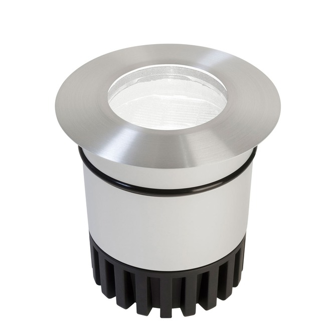 Sun3 Round LED 47Deg Recessed Uplight/Steplight by PureEdge Lighting | sun3-hdl4-rd-ww-sa