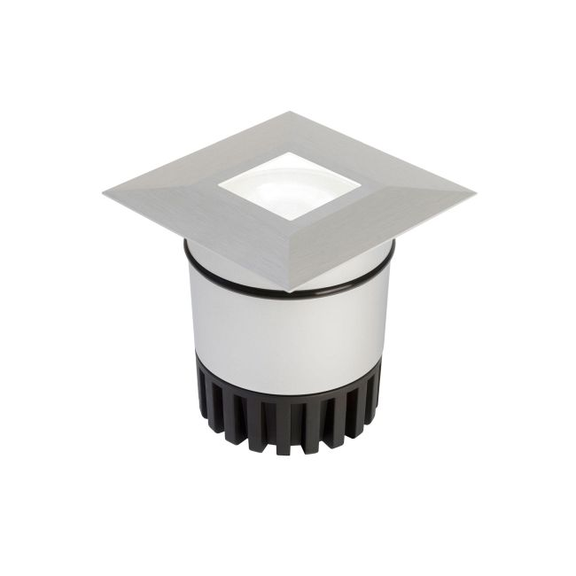 Sun3 Square LED 47Deg Recessed Uplight/Steplight by PureEdge Lighting | sun3-hdl4-sq-ww-sa