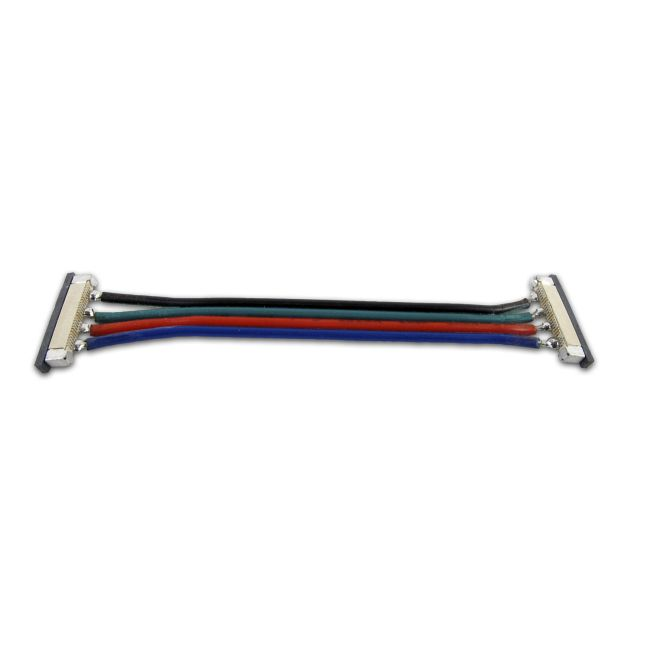 Soft Strip RGB Flexible Goof Connector by PureEdge Lighting | ss-cgf-3in-rgb