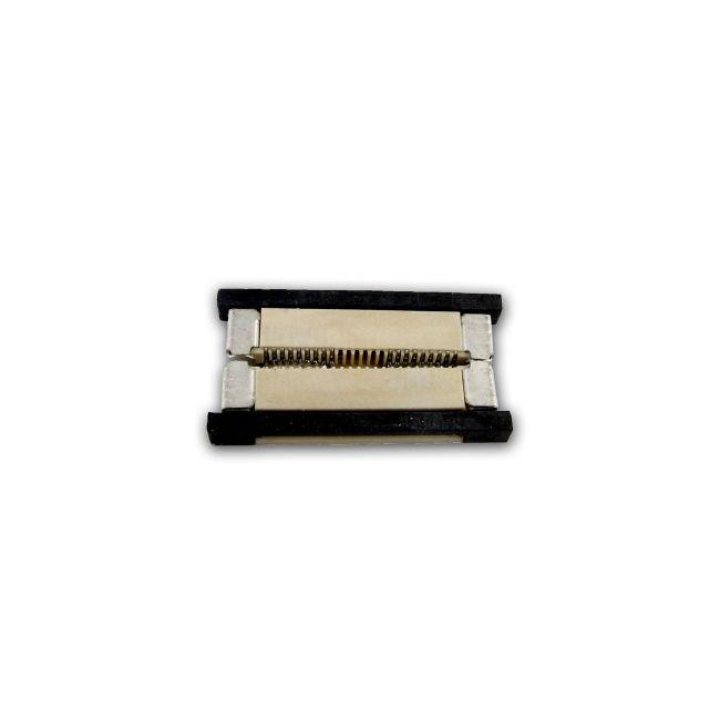 Soft Strip RGB Straight Goof Connector by PureEdge Lighting | SS-CGF-RGB