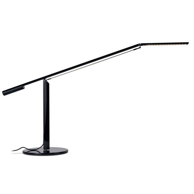 Equo LED Desk Lamp by Koncept Lighting | ELX-A-W-BLK-DSK