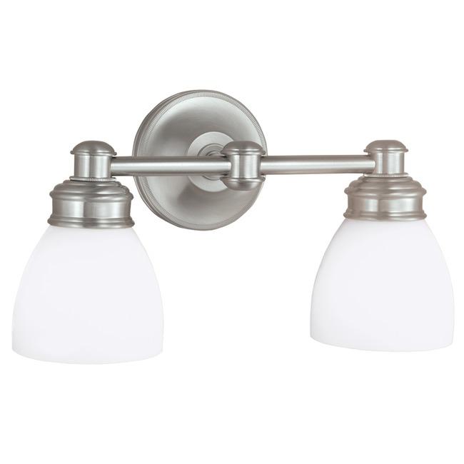 Spencer Bath Bar 2-Light by Norwell Lighting | 8792-BN-OP