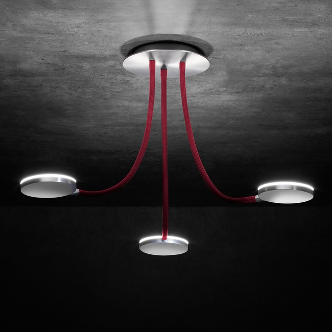 Flex 3 Light Ceiling Light  by Holtkoetter