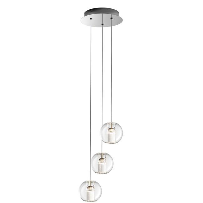 Fairy Sphere 3 Light Suspension by Leucos | LEU-0703277013465