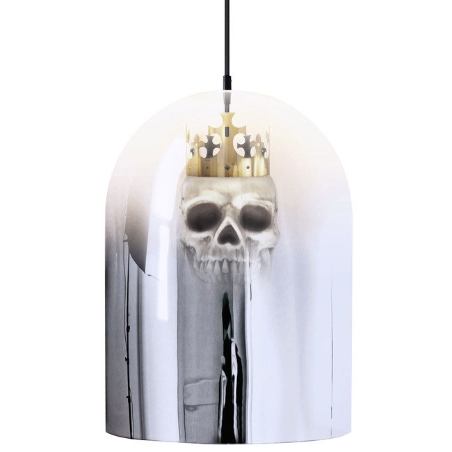 King Arthur Mirror Dome Pendant  by Mineheart