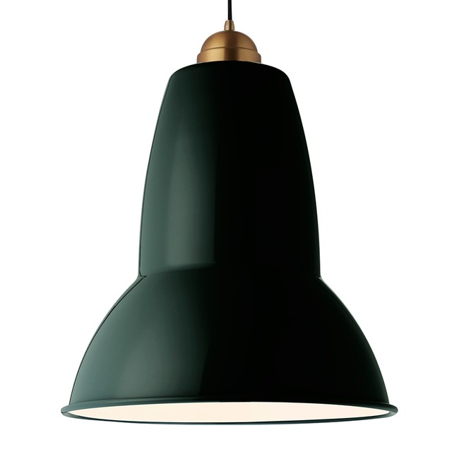 Original 1227 Giant Brass Pendant  by Anglepoise