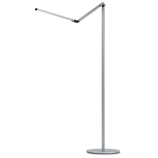 Z-Bar LED Floor Lamp by Koncept Lighting | AR5000-CD-SIL-FLR