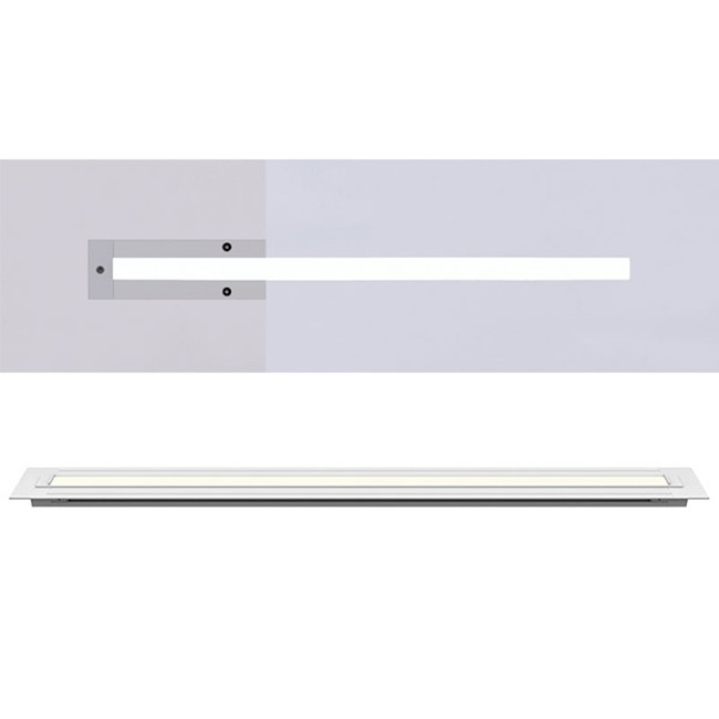 TruLine 1A 5W 24VDC 2K4K Tunable White Plaster-In LED System  by PureEdge Lighting