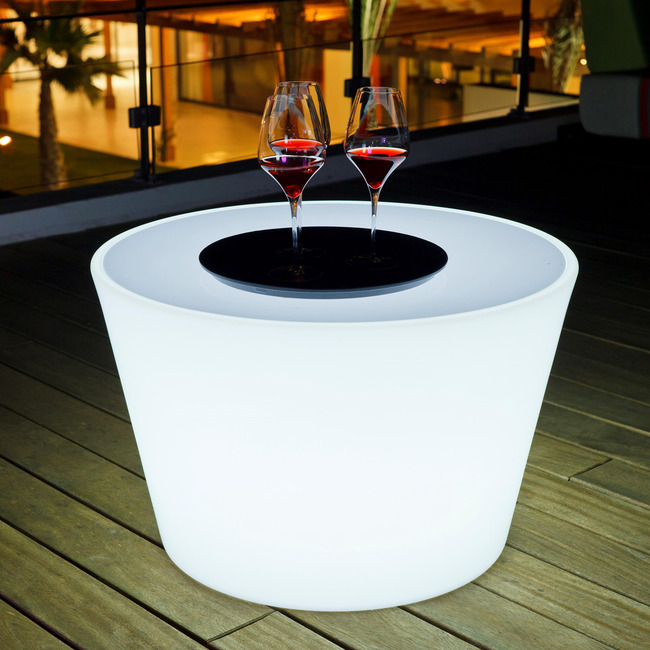 Bass Bluetooth Indoor / Outdoor LED Coffee Table  by Smart & Green