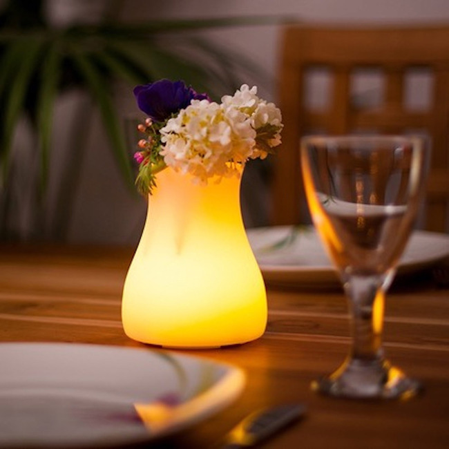 Olio Portable Bluetooth Indoor / Outdoor LED Lamp  by Smart & Green