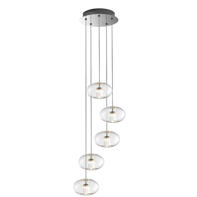Fairy 5 Geoid Pendant Suspension by Leucos | LEU-0703272013465