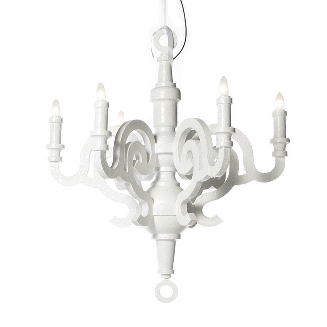 Paper Chandelier by Moooi  by Moooi