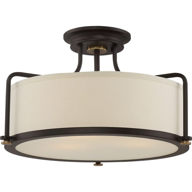 Calvary Ceiling Semi Flush Light  by Quoizel