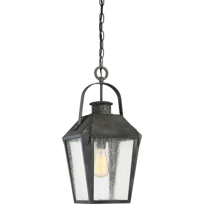 Carriage Outdoor Pendant  by Quoizel