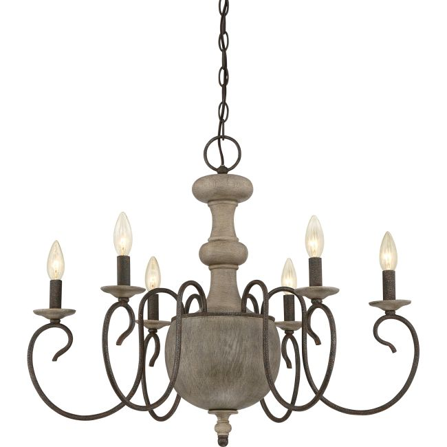 Castile Chandelier  by Quoizel