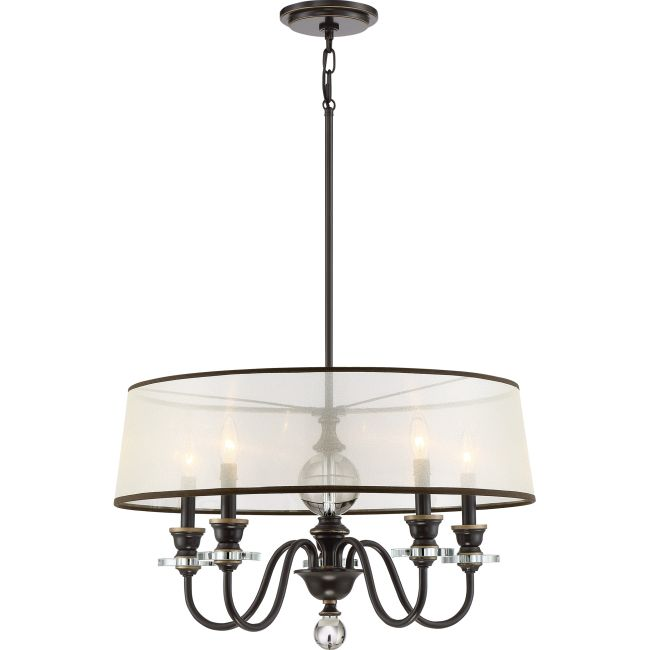 Ceremony Shade Chandelier  by Quoizel