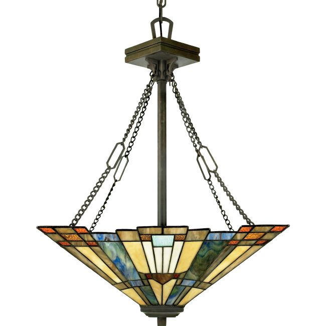 Inglenook Bowl Pendant by Quoizel  by Quoizel