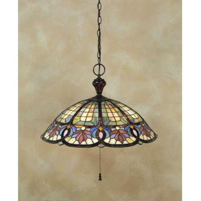 Tiffany 1618 Pendant  by Quoizel