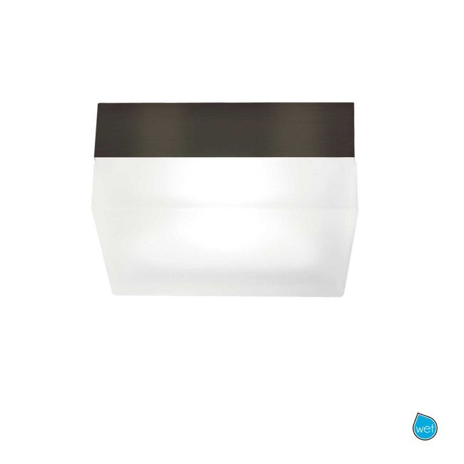 90 Square Wall/Ceiling Flush Mount by Tech Lighting | 700FM90LZ