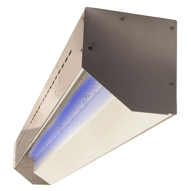 Stratus Outdoor RGB Linear Wall Grazer  by PureEdge Lighting