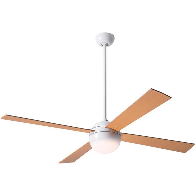 Ball Ceiling Fan with Light  by Modern Fan Co.