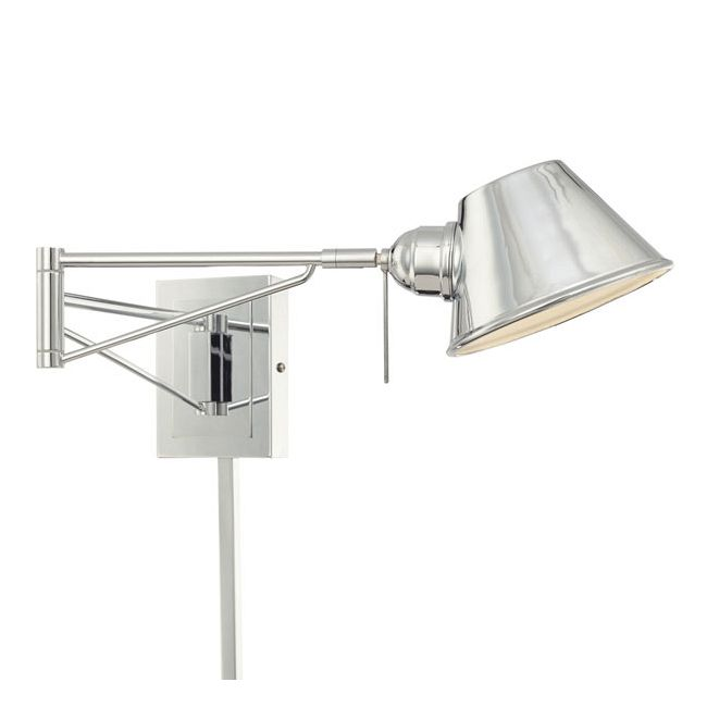 P611 Swing Arm Wall Sconce by George Kovacs | p611-077