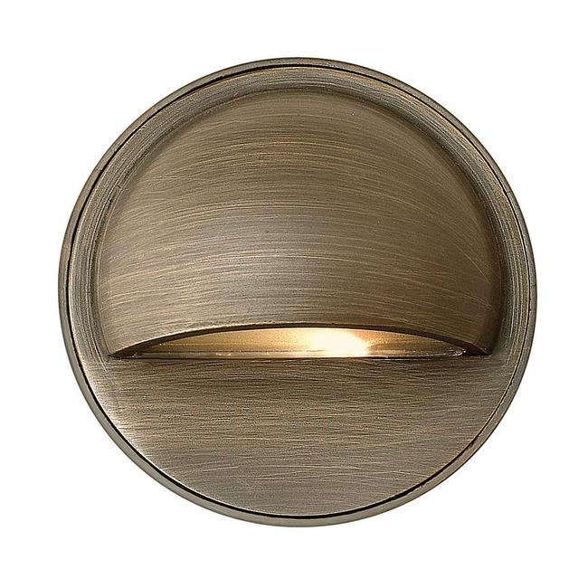 Hardy Island 12V Round Eyebrow Deck Light by Hinkley Lighting | 16801MZ