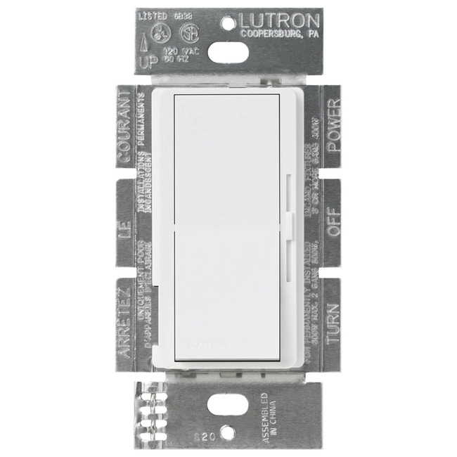 Diva 8A 3-Wire LED / Fluorescent Ballast Dimmer  by Lutron