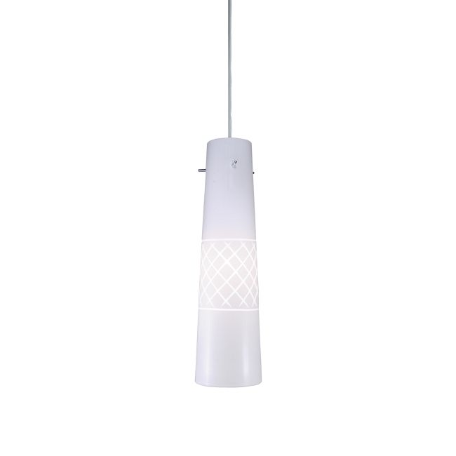 FJ White and Dark Night Pendant 24 Volt by PureEdge Lighting | FM-FJ-NIGHT-WH-24-SN