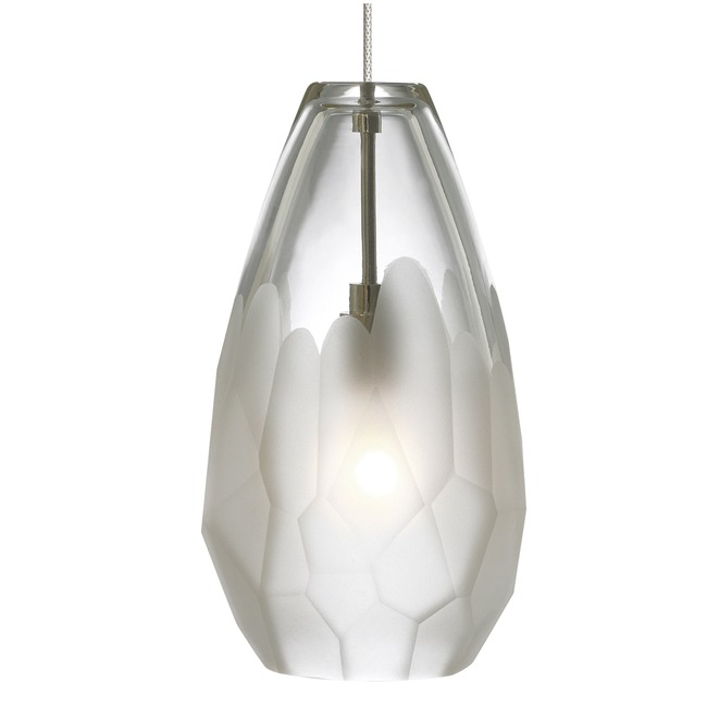 Briolette Monopoint Pendant by LBL Lighting | hs549frsc1bmpt