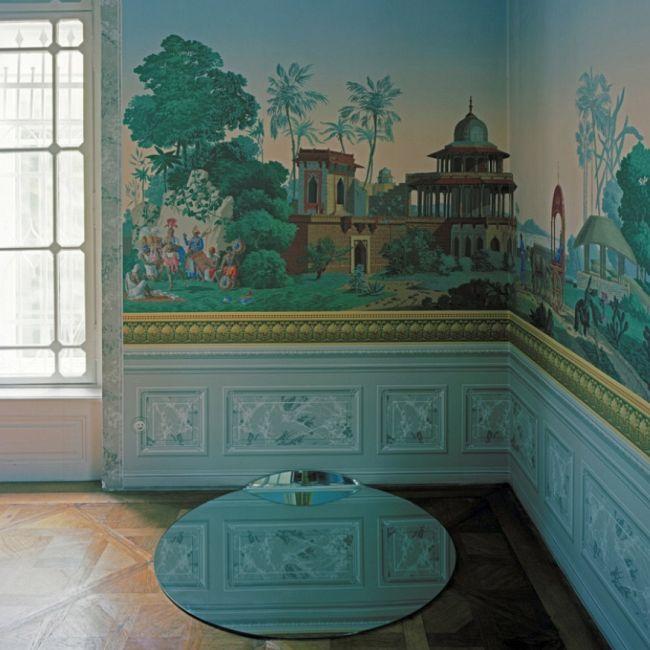 Waxing Gibbous Floor Mirror  by Michael Anastassiades