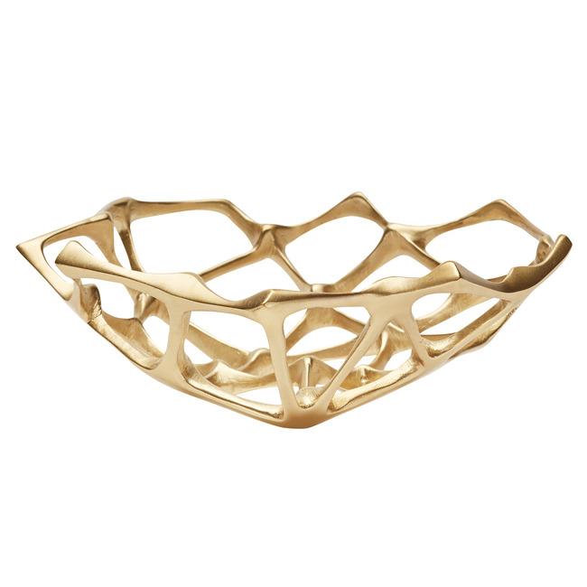 Bone Bowl Brass  by Tom Dixon