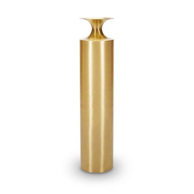 Beat Vessel Tall Brass  by Tom Dixon