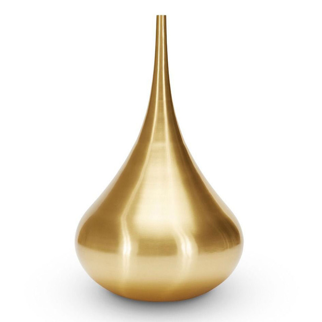 Beat Vessel Drop Brass  by Tom Dixon