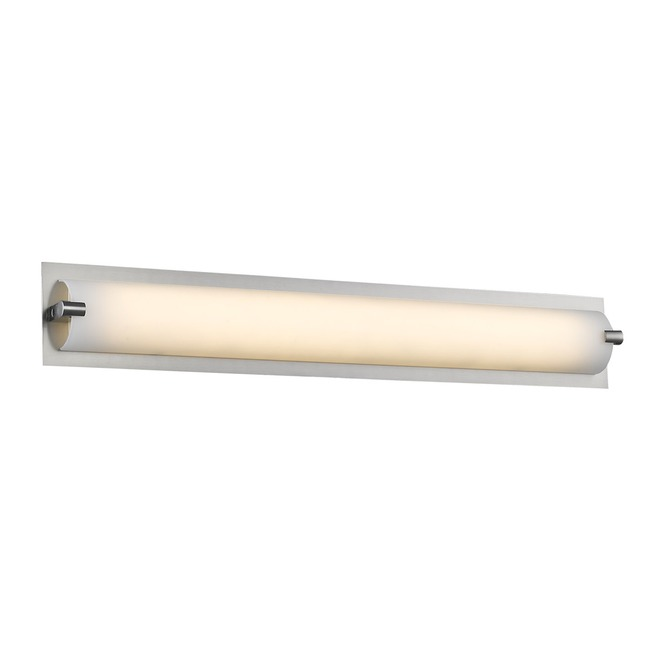 Cermack St 111 Backplate Round Bathroom Vanity Light  by Avenue Lighting