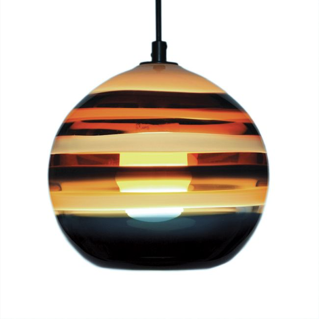 Banded Orb Pendant by Siemon & Salazar | 25-44-53-BZ-BP