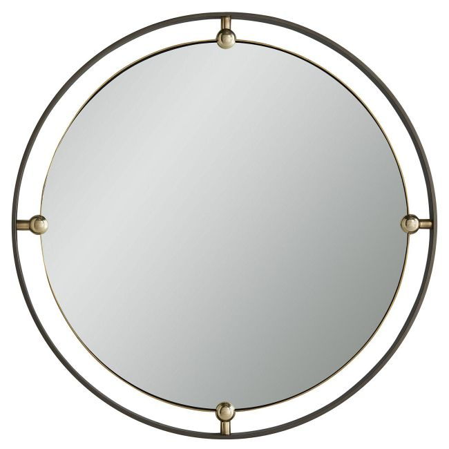 Janey Round Mirror  by Arteriors Home