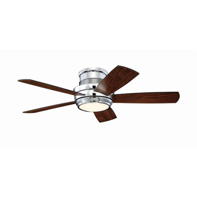 Tempo Hugger Ceiling Fan with Light  by Craftmade