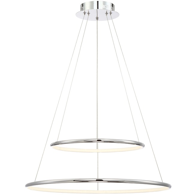 Valley Two Tier Pendant  by Eurofase