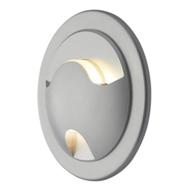 Como 60/20 2 Light Point no J-Box Semi Recessed Wall Light  by Molto Luce