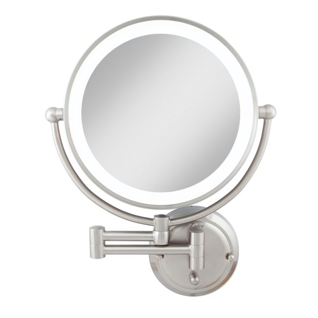 Glamour 1X/5X Hardwired Lighted Wall Mount Mirror  by Zadro