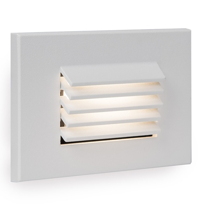 120V Horizontal Louvered Landscape Step / Wall Light 3000K  by WAC Lighting